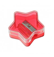 Bleistiftspitzer-Sternform, glasklar