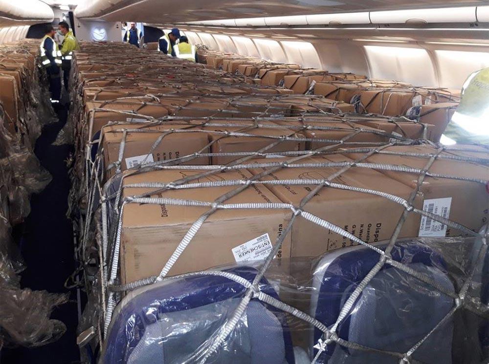 KSi Care - wir chartern Flugzeuge für schnelle Lieferung