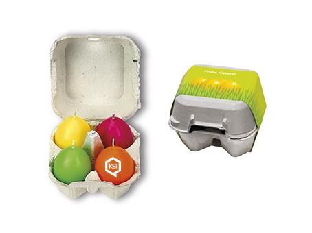 Osterkerzen mit Logo bedrucken