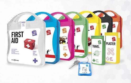 MyKit, MiniKit und MicroKit als Werbesartikel bedrucken