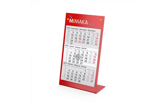 3-Monats-Kalender selber gestalten