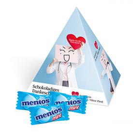 MENTOS mit Logo bedrucken als Werbeartikel