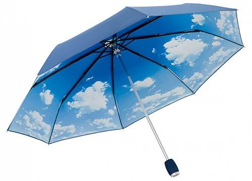 Herzhaft Regenschirm Taschenschirm Mini Mit Punkten verschiedene Farben Reiseaccessoires