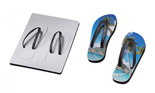 Flip Flops, Zehensandalen und Sandalen bedrucken mit Logo