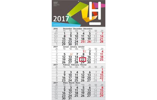 4 Monatskalender bedrucken
